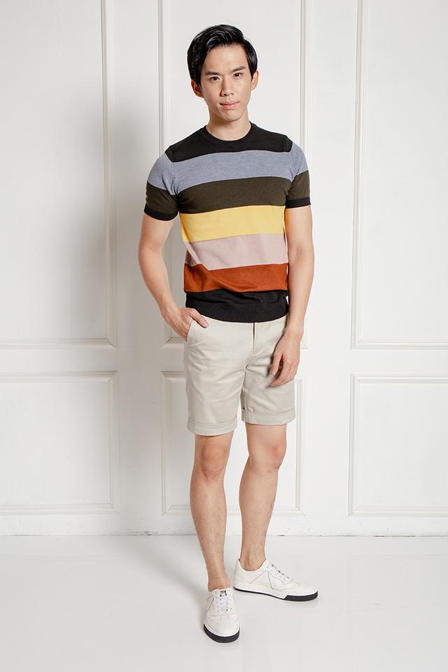 Multicolored Tier Knitwear