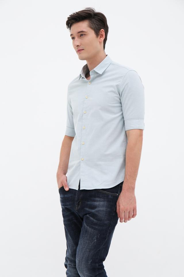 Mint Green Half Sleeve Shirt