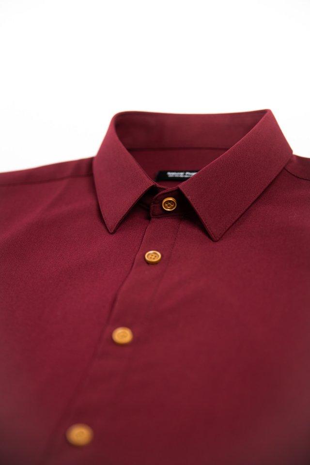 Maroon Half Sleeve Shirt