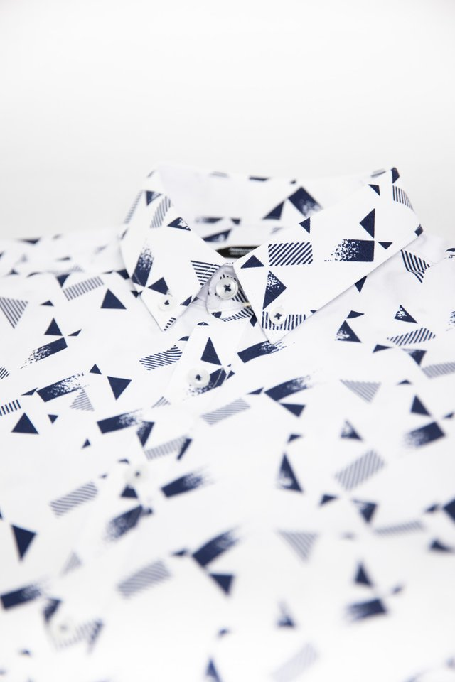 Geometric Prints Half Sleeve Shirt