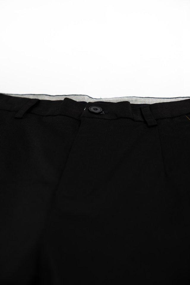 Slim Fit Shorts in Black