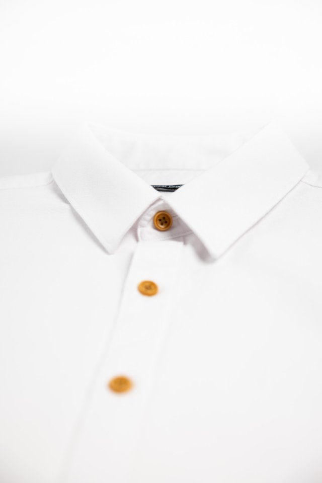 Oxford White Half Sleeve Shirt