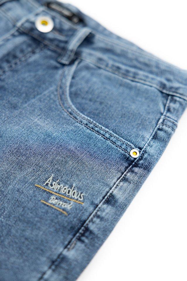 Blue Grey Denim Jeans