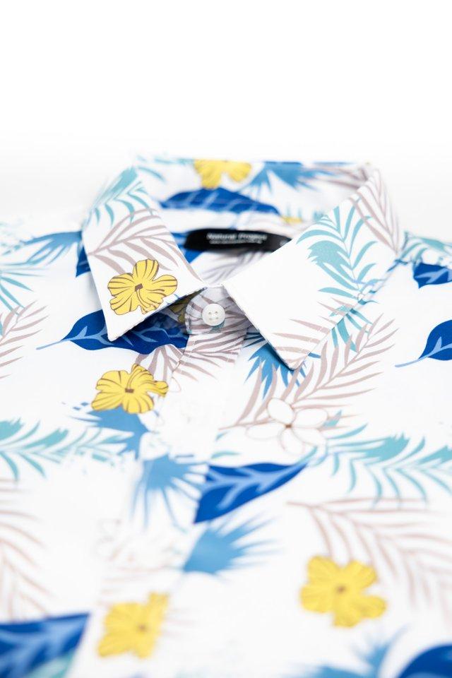 Multicoloured Floral Short Sleeve Shirt