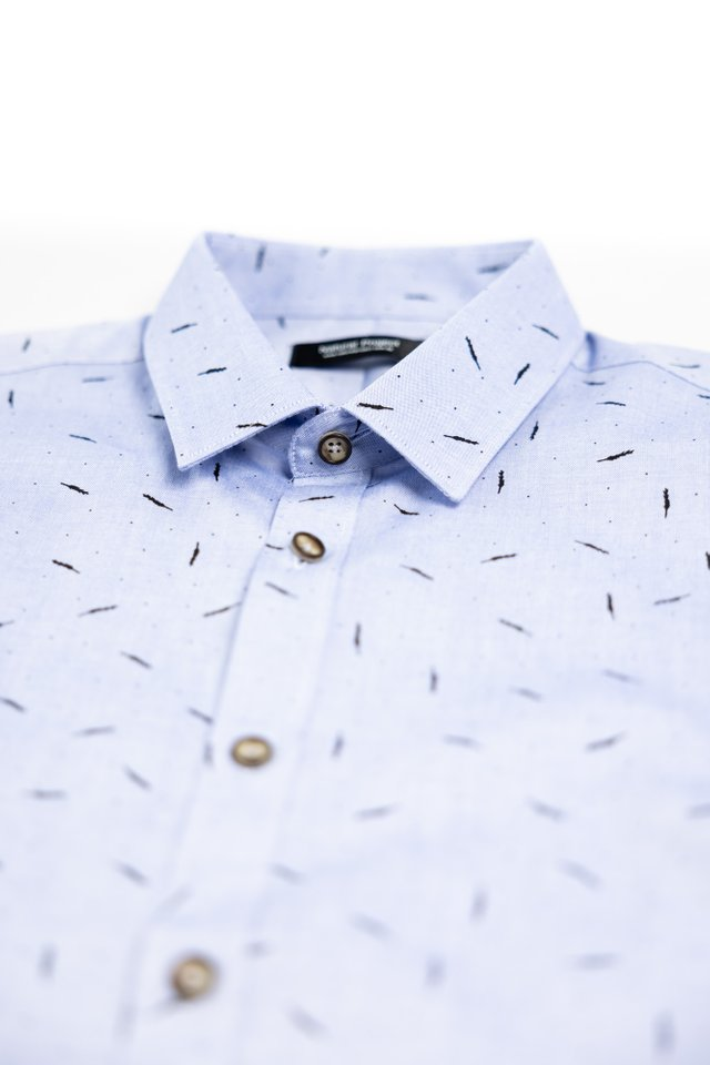 Wheat Blue Short Sleeve Shirt