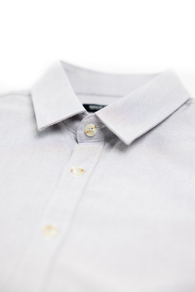 Cloud Grey Long Sleeve Shirt