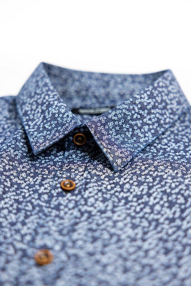 Small Floral Prints Half Sleeve Shirt